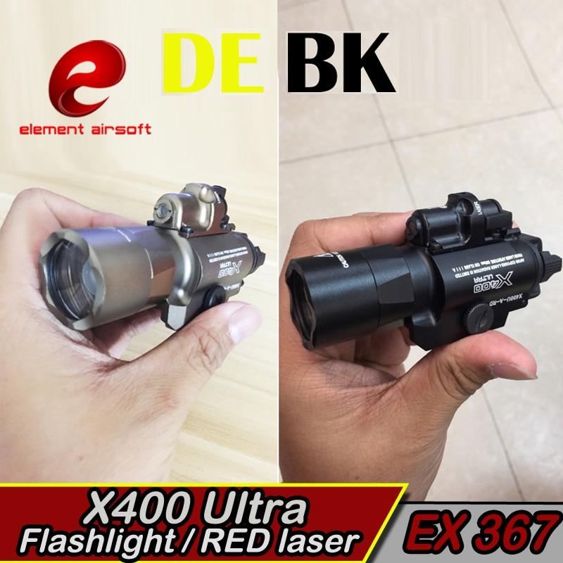 Element X400 Ultraljubičasta Taktička svjetla laser Picatinny - Lov - Foto 3