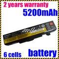 JIGU 6 ячеек батарея для lenovo IdeaPad y485p Y480 B590 G710 G700 N581 P585 B490 Серии ThinkPad E540 E440 E531 E431