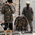 Very Grateful For Long Sleeves Hip-Hop Fake Two Piece Hoodie Teen Hip Hop Male And Female Camouflage Jersey Hoody Sudaderas