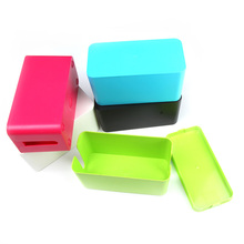 New ABS Material Wire Storage Box Cable Manager Organizer Box Power Line Storage Cases Junction Box Household Storage Tools