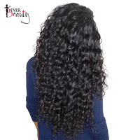 Ever Beauty Brazilian Deep Wave Remy Human Hair Bundles 100 Human Hair Weaving Natural Black 10