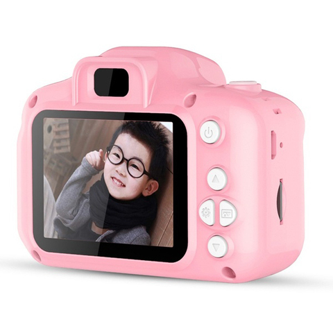 Photography DC500 Full Color Mini Camera for Children Kids Cute Camcorder Video Child Cam Recorder Digital Camcorders Blue/Pink Pakistan