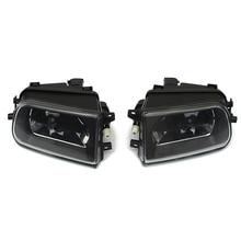 2x Frente Bumper Fog Lâmpada Luz de Condução Para BMW E39 528i 540i Z3 1997-2000 Preto