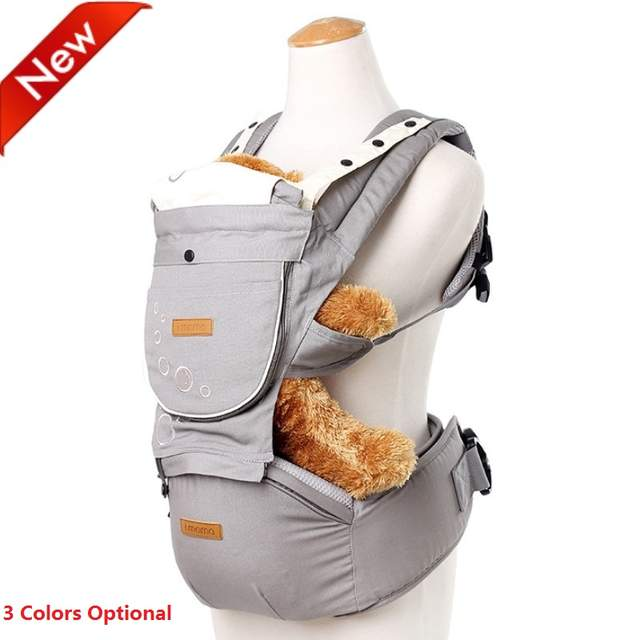f0b04b95270 Online Shop Multifunctional Baby Carrier Cotton Hipseat 3 Colors Kangaroo  Ergonomic Baby Carrier 360 Newborn Baby Backpack Ergonomic Baby