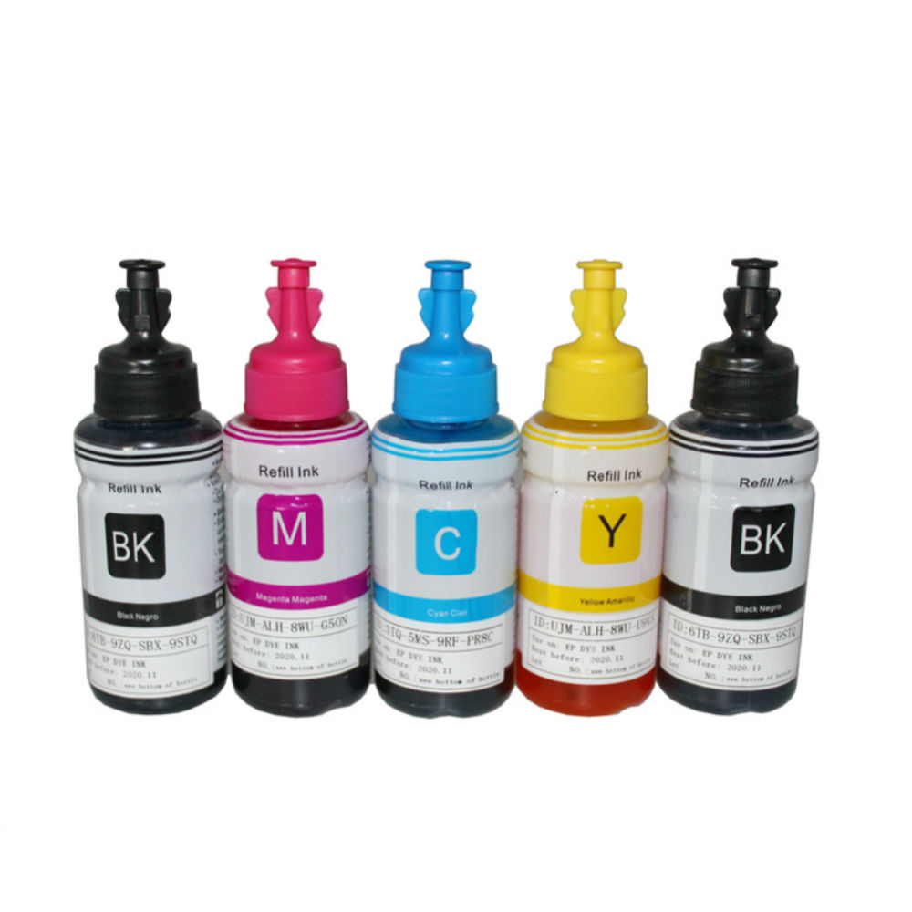 HTL 350ml dye ink refill ink compatible for epson L200 L210 L222 L100 L110 L120 L132