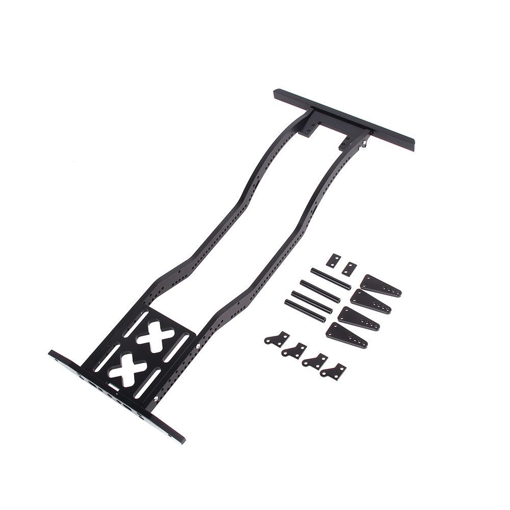 High Quality Metal RC Car Defender Frame Set for 1:10 Axial SCX10 RC4WD D90 JK Model Remote Control Parts & Accs free shipping 1 10 model climber trx4 axial scx10 d90 ghost 2 2 wheel frame metal hub high quality