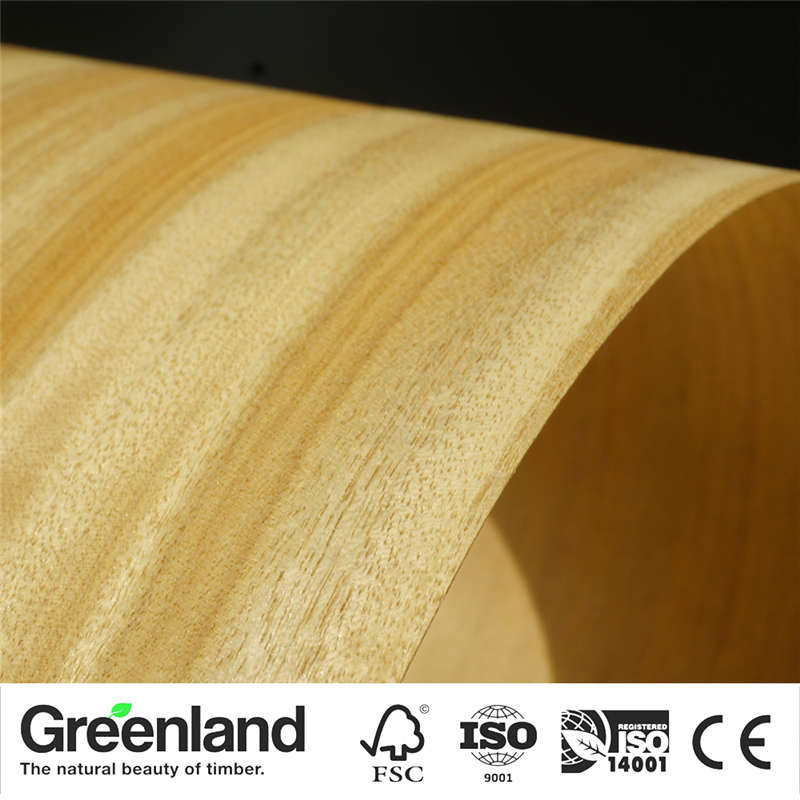 Chanpaka Natural Wood Veneers Flooring DIY Furniture Natural Material Bedroom Chair Table Skin Size 250x20 Cm Natural