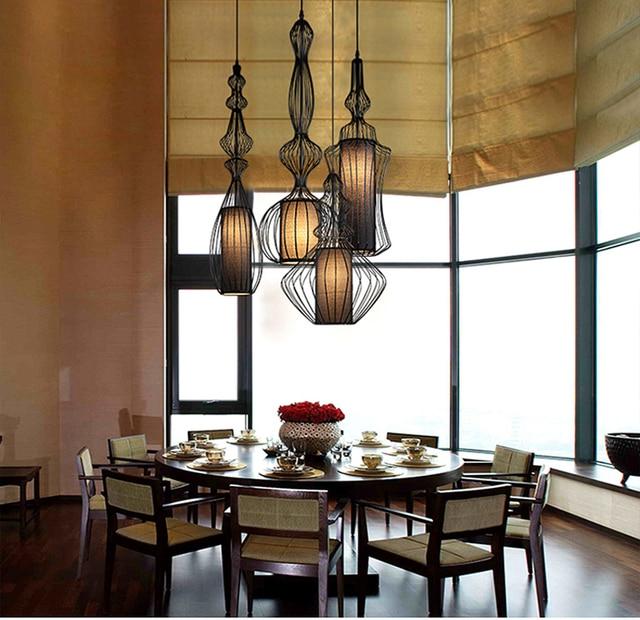 US $62.58 58% di SCONTO|Americano lampade a sospensione per la sala da  pranzo camera da letto moderna lampada A Sospensione Sospensione  Apparecchio ...