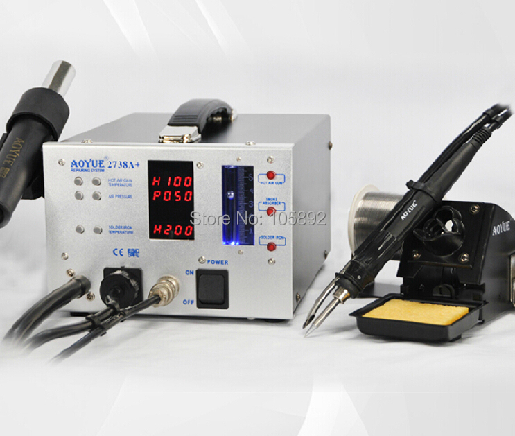 Free shipping Aoyue 2738A+ Repairing System Repair rework station,3 in 1 repair station hot air soldering station 110V 220V nutrient dynamics in a pristine subtropical lagoon estuarine system