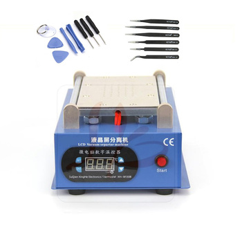 LY 947V.3 LCD Separator Repair Machine With Tweezers Screen  Kit For 7 inch iPhone Samsung with Cutti