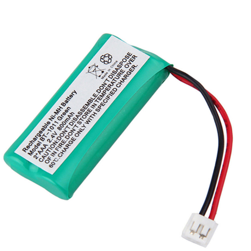 1 bateria sem fio do telefone dos pces 2.4 v 800 mah ni-mh para uniden BT-1011 BT-1018 bt101