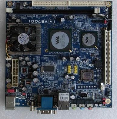 Mini-itx Motherboard Via Embedded Industrial Motherboard EPIA-VB7001 Av-out 100% tested perfect quality триммер аккумуляторный art 23 18 li