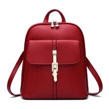 Высокое качество 2017 новая женщина рюкзак. большая емкость мешка. Metal lock.