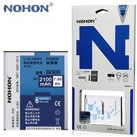 Original NOHON 2100mAh Battery For Samsung Galaxy S3 SIII I9300 I9308 I9082 I9305 T999 EB L1G6LLU