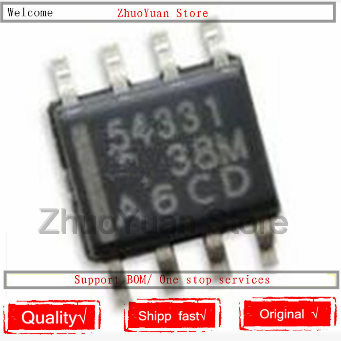 1PCS lot New original TPS54331DR SMD TPS54331 54331 DC DC converter SOP-8 chip