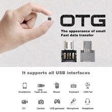 Mini adaptador usb tipo c, adaptador de entrada micro usb otg para smartphone adaptador de entrada de celular android