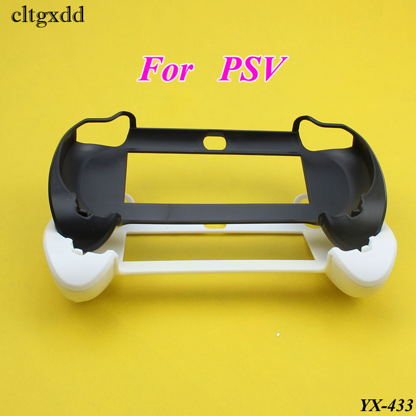 cltgxdd Plastic Hard Case Cover Skin Protector for anti-skid handle Hand Grip for Sony PS Vita For PSV Game gaming controller image