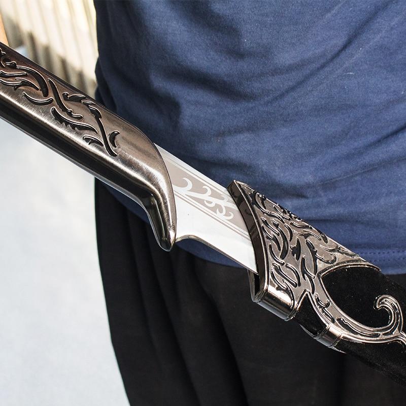 Elves King Sword The Hobbit movie props Stainless steel material length 71 102cm home decor