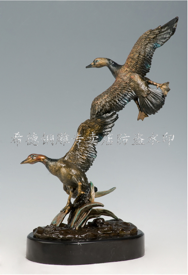online buy wholesale animal bronze sculpture from china. Black Bedroom Furniture Sets. Home Design Ideas