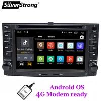 SilverStrong Android8.1 2DIN 4G LTE модем автомобильный DVD для KIA Sportage 2010 2007 gps навигация 2Din автомобильный Радио плеер Поддержка TPMS