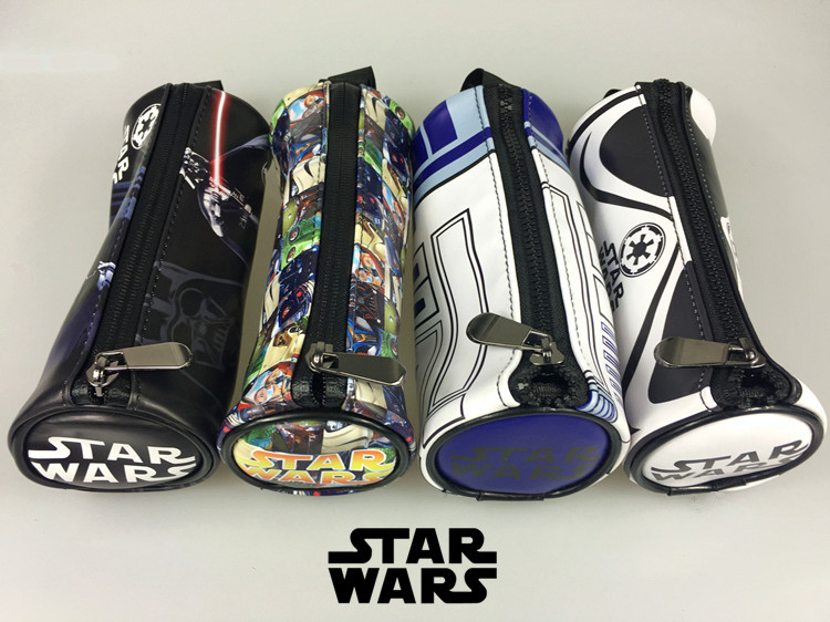 star wars pencil case design for back to school with r2d2 stormtrooper and rebels