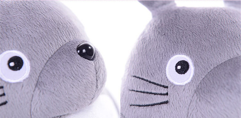 Totoro Plsuh Toys  Soft suffed animal cartoon pillow cushion cute fat cat  chinchillas children birthday Christmas gift 8