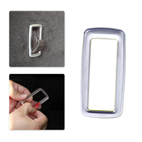 DWCX Car Styling Chrome Plated Interior Rear Trunk Hook Frame Cover Trim For Mercedes Benz M