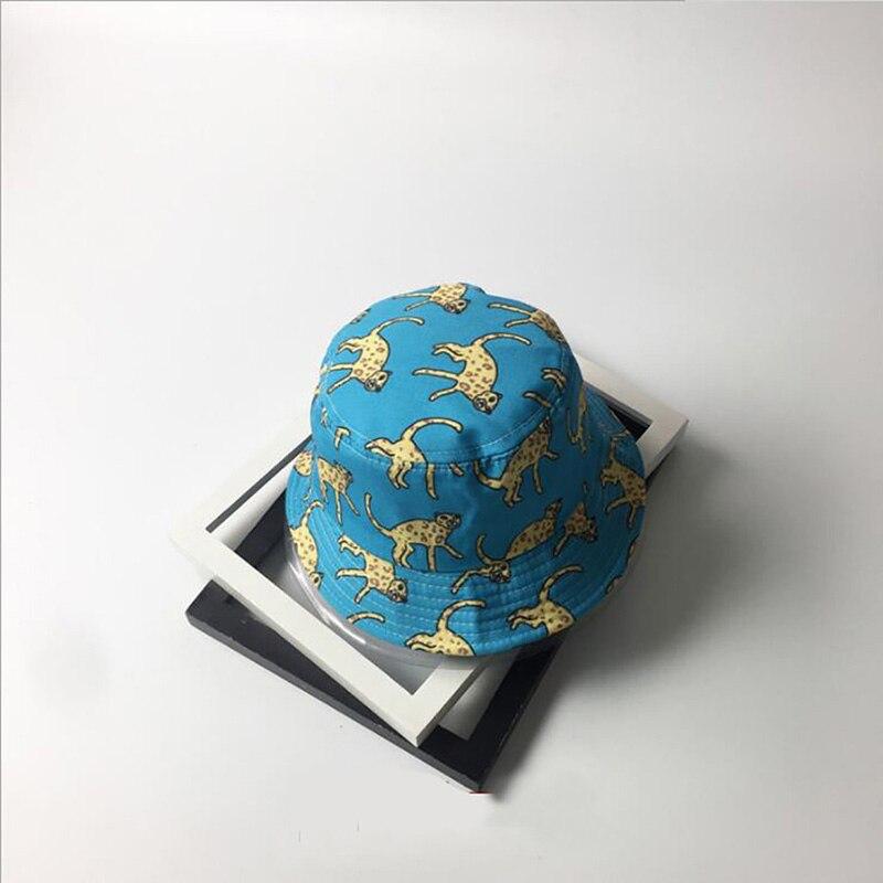 Kopfbedeckungen Für Damen Mode Casual Gedruckt Zebra/swallow Eimer Hüte Für Frauen Sommer Hut Weibliche Flache Fischer Hut Outdoor Wandern Kappe Nachfrage üBer Dem Angebot