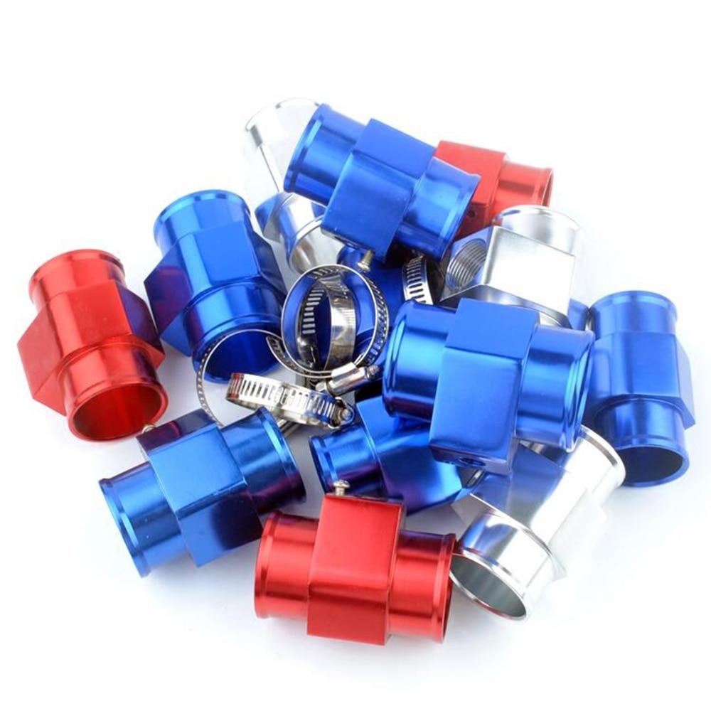 1 stück Auto Wasser Temp Joint Rohr Temp Gauge Adapter Drei Direkten Links 26/28/30/32 /34/36/38/40mm für 1/8 NPT Sensor