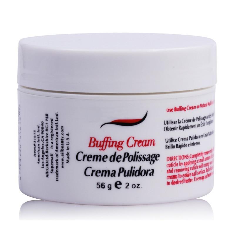 Cream Nail Art: Nail Treatment Polishing Wax Nail Art Buffing Cream Nail