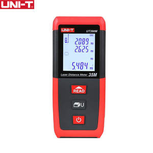 UNI-T UT390M Laser Meter Rangefinder Hunting 0.05-35M Min unit 1mm tape measure ruler Roulette tester tools