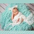 Menina da criança chapéu do bebê chapéu do verão que você escolher o tamanho para adereços fotografia de recém-nascidos de cor branca de alta fio Mohair