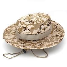 380a62b3789 2017 summer new unisex Men women Outdoor fisherman hat hiking fishing  camouflage Jungle hat 7 types