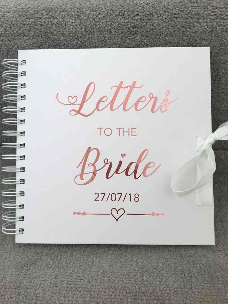 HEN NIGHT SCRAPBOOK ALBUM PERSONALISED BRIDE //WEDDING BRIDESMAID GIFT