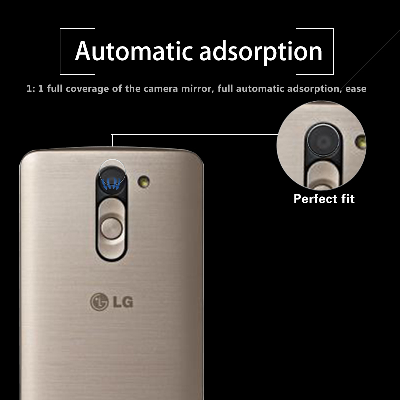 Ultra-thin Back Camera Lens Tempered Glass Film For LG L Bello 5.0 Rear Camera Lens Protective Film Glass With Cleaning Tools