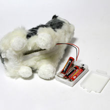 Simulation Robot Dog Barking, Cat Meowing and Wag tail Electronic Toys