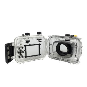 Image 5 - For Canon G11 G12 Camera Waterproof Housing PC Plastic Case Transparent Cover Diving Depth Rating 40m Control Camera Functions