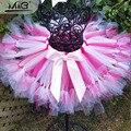 2016 summer girls tutu skirt Birthday party gift for girl tulle skirt Children fluffy polyester dancewear  Baby kids gall gown