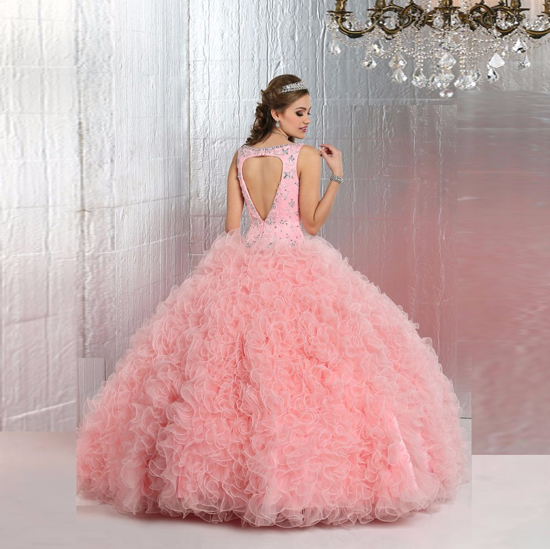 2016-High-Quality-Ruffles-Beading-Organza-Ball-Gown-Quinceanera-Dresses-For-15-Years-Vestidos-Plus-size (1)