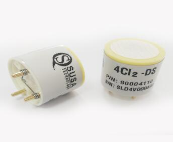 Chlorine gas sensor 4CL2-DS  new and stock!