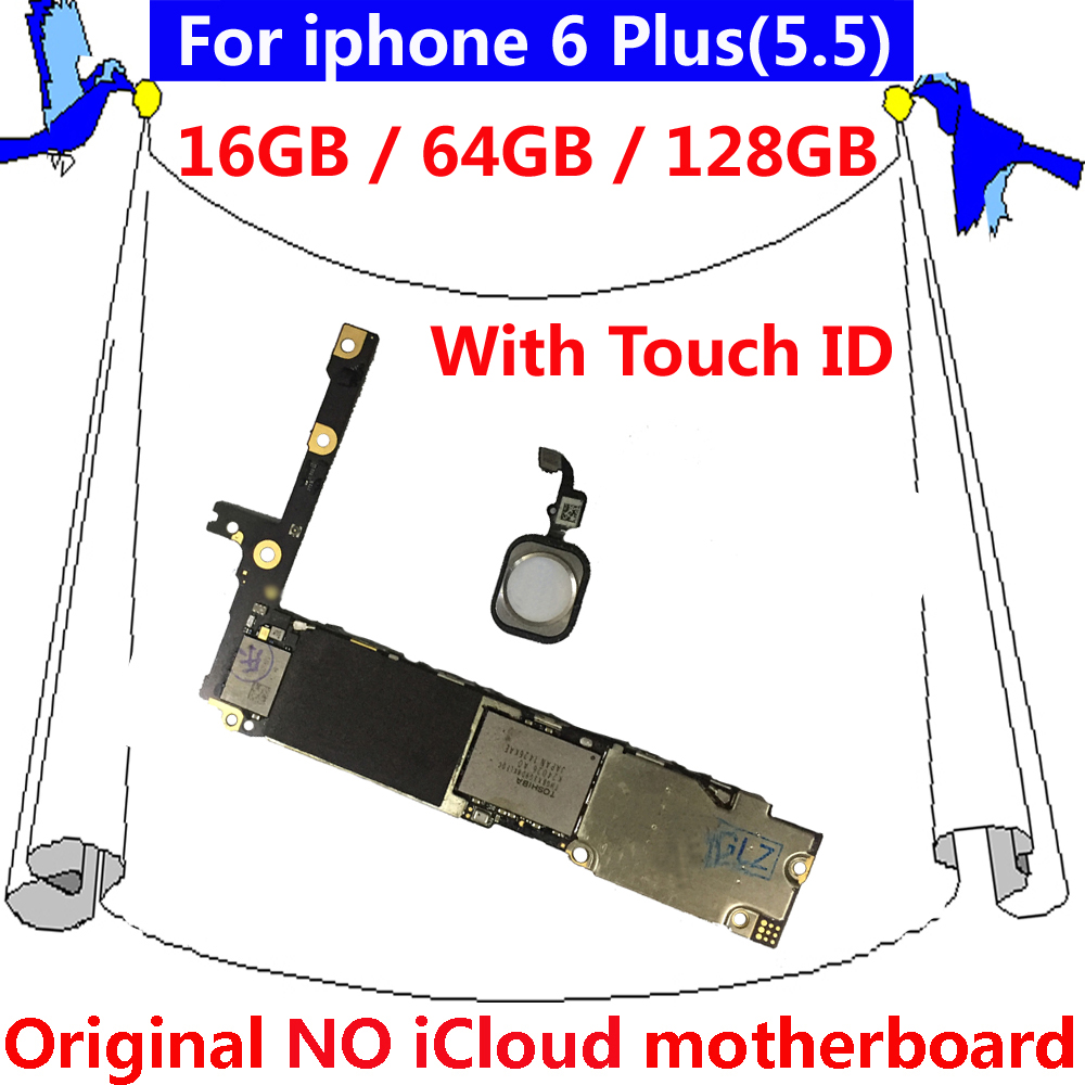 64gb Factory Unlocked Mainboard Without Face Id For Iphone X Clean 5 Logic Board Diagram 6 Plus Original Motherboard With Touch 16gb 128gb Ios No
