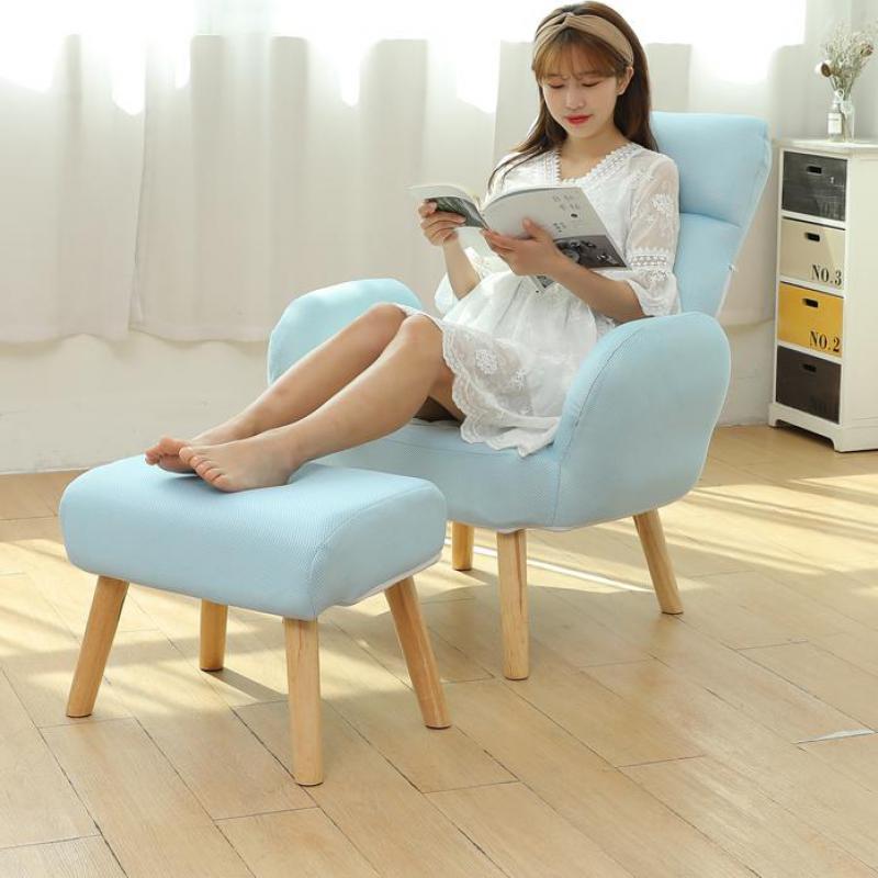 Feeding-Chair Sofa Bedroom Easy-Recreational Lazy Household Backrest