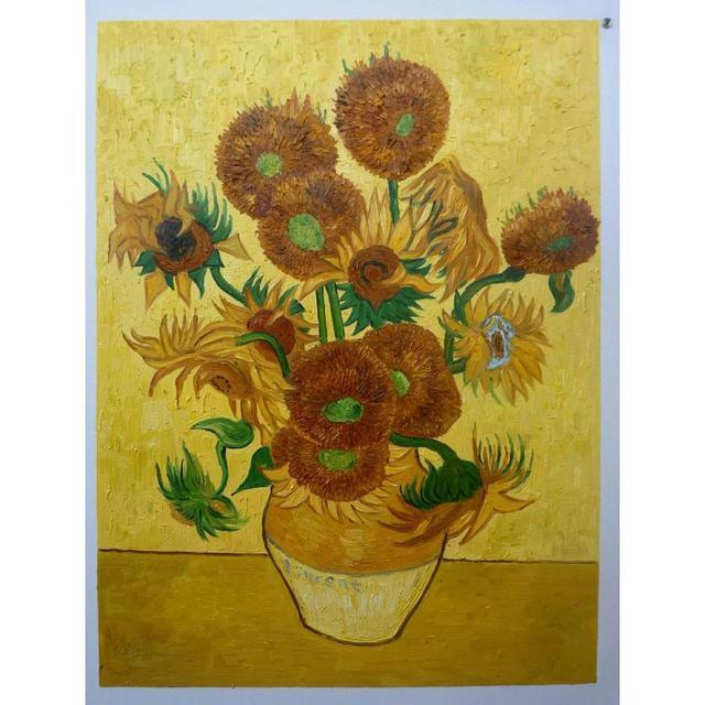 Berühmte Gemälde Von Blumen Zeitgenössische Kunst Sonnenblumen By