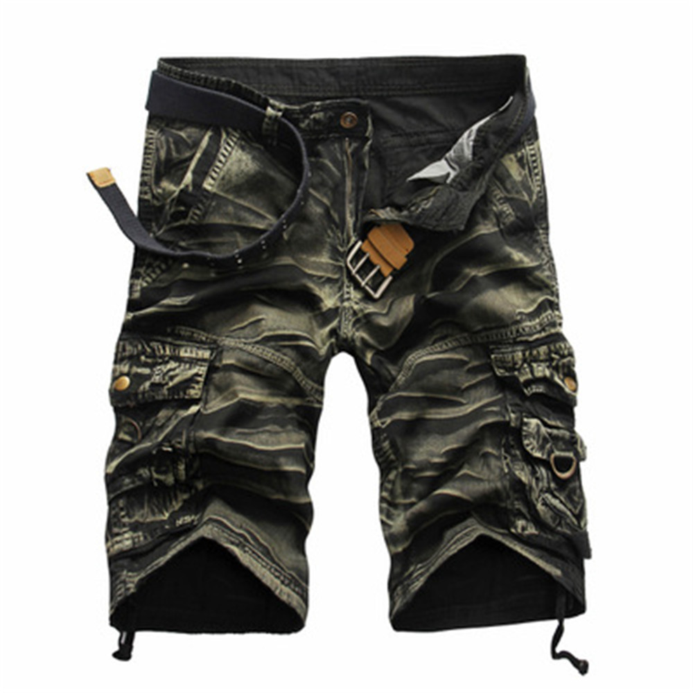 Daddy Chen Short Homme Coton Men Shorts Camouflage Cargo Shorts Men Summer Cotton Casual Tactical With Pockets Military Style