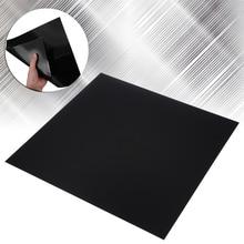 Новая индустрия ABS пластиковый лист 300*300*0,5 мм черный DIY пластиковый плоский гибкий Гладкий задний лист для автомобиля Стайлинг аудио