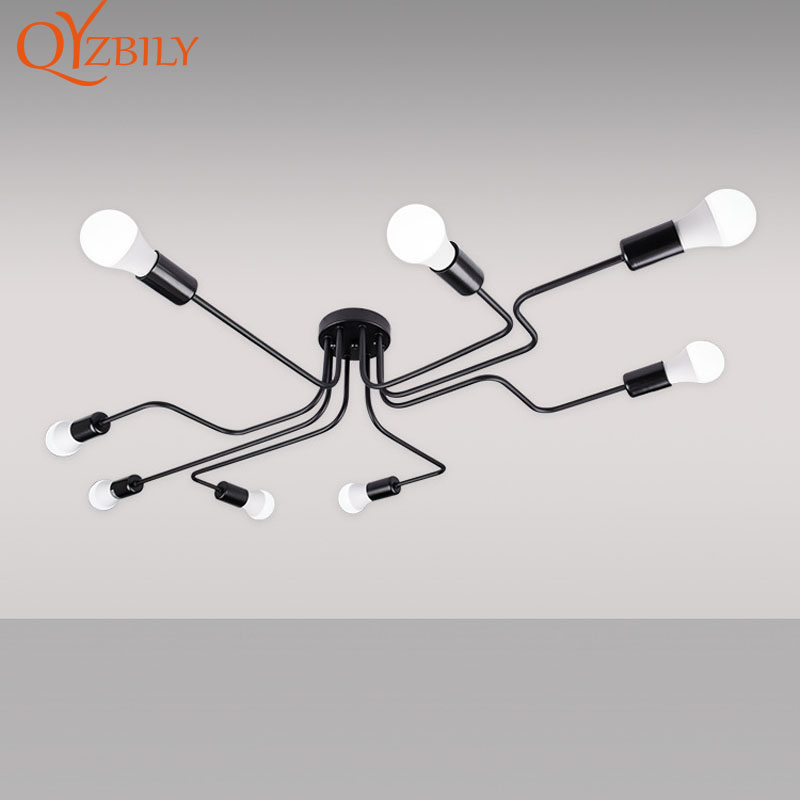 Подвесной светильник s железный подвесной светильник современный подвесной светильник Промышленный Лофт Декор Скандинавский дизайн свети