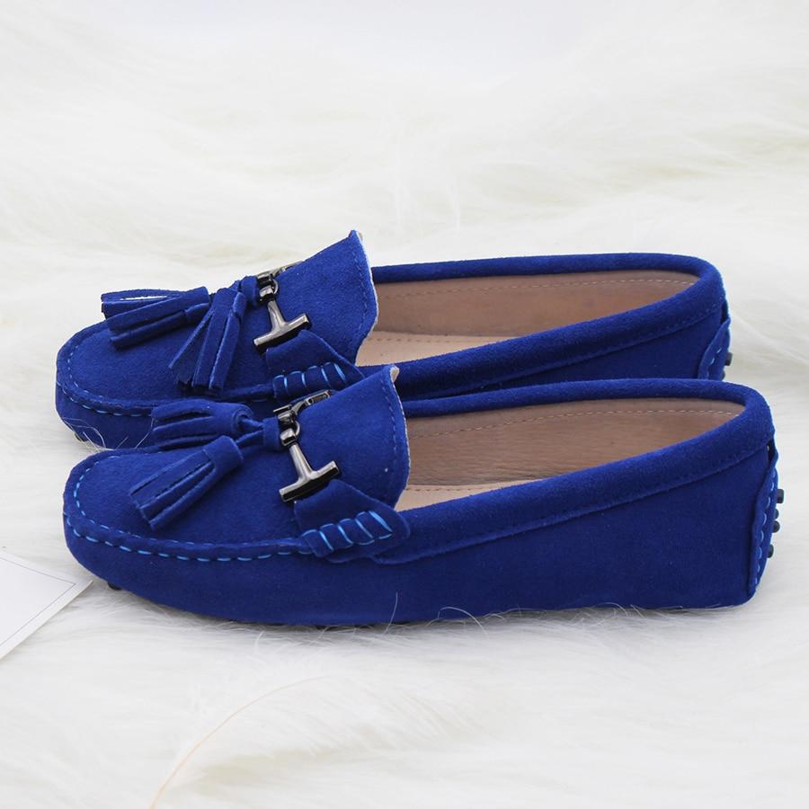 Sapatas Das Mulheres de Alta Qualidade 100% Apartamentos Sapatos de - Sapatos femininos
