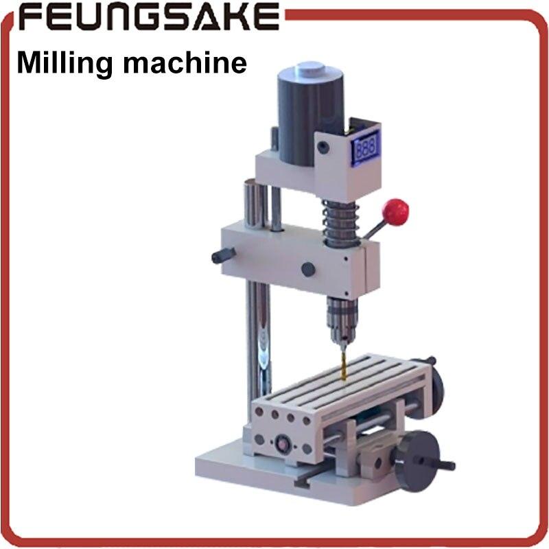 B12 milling machine with JT0 chuck Mini Drill Press Bench B10 Drill Machine with workbench drilling