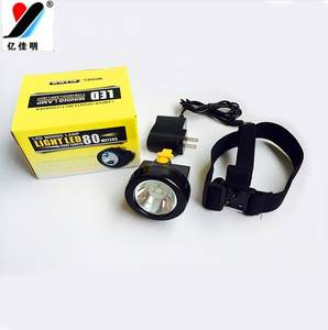 Linterna -Miner-Lamp Stirnlampe/headlamp Rechargeablehead Waterproof Q5 High/Low-Switch