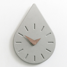 Water drop design wall clock concrete molds Home furnishing handmade silicone molds